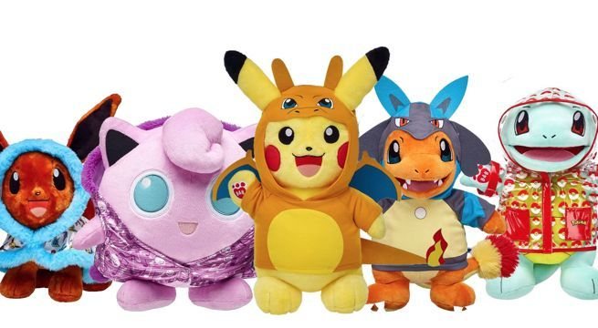 Pokemon Build a Bear