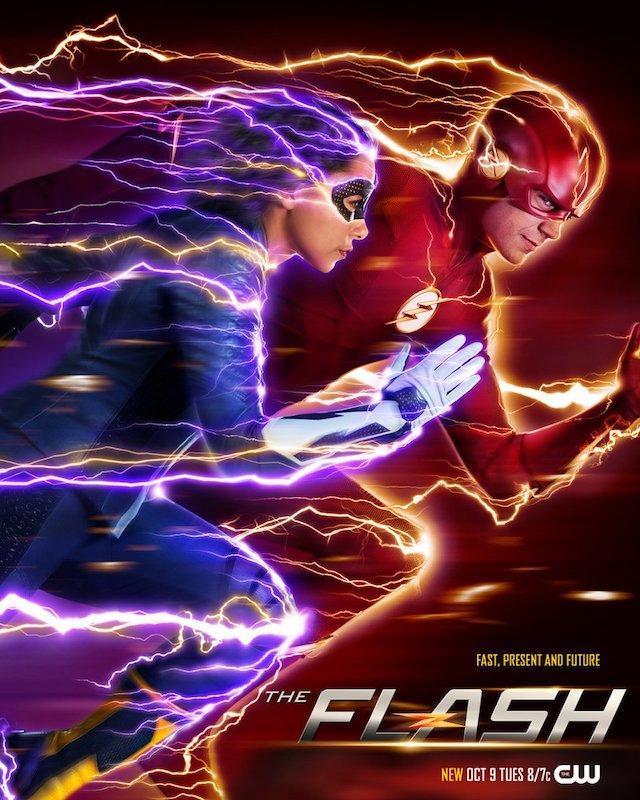the flash season 5 poster reveals epic