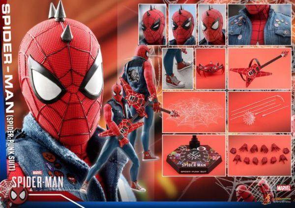Hot Toys 'Marvel's Spider-Man' PS4 Spider-Punk Suit Figure ...