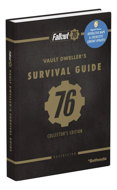 Save Up To 40 On The Fallout 76 Survival Guide And Cookbook