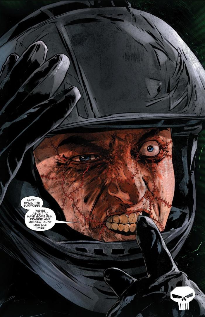 Punisher Jigsaw Marvel