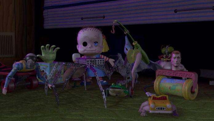 Jouets terrifiants - Sid Dolls