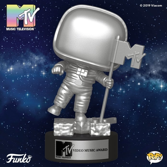 Funko Turns the MTV Moon Person Video Music Award Into a Pop Figure