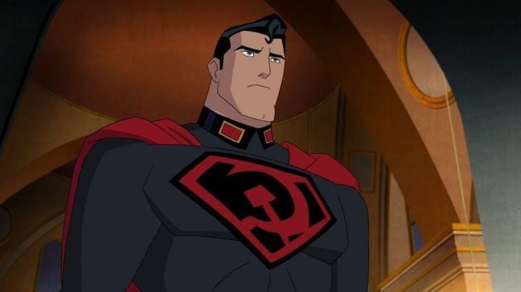 Resultado de imagem para SUPERMAN RED SON ANIMATED