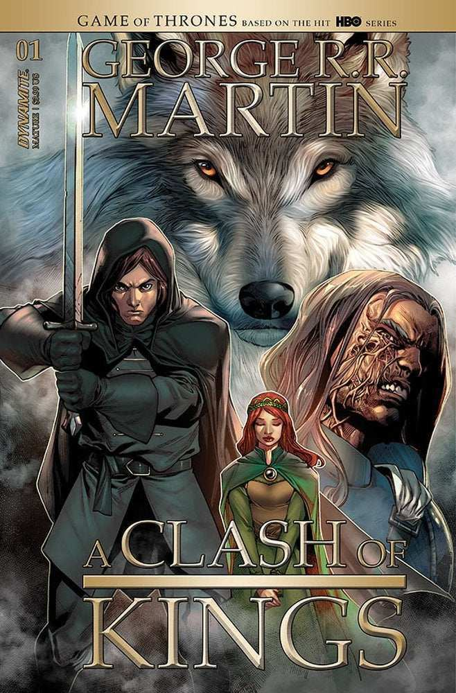 Game of Thrones Comic Clash of Kings Dynamite