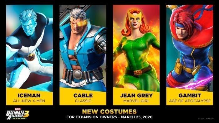marvel ultimate alliance x men