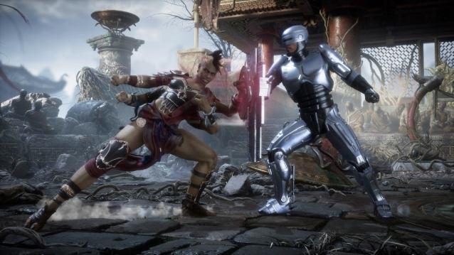 Sheeva vs Robocop Mortal Kombat 11 Aftermath