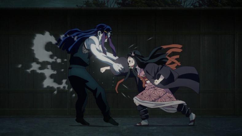Demon Slayer - Nezuko vs Swamp Demon