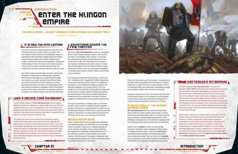 Star Trek Adventures The Klingon Empire 003
