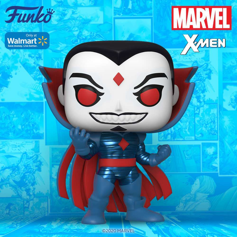 Funko's X-Men Mister Sinister Metallic Pop Figure ...