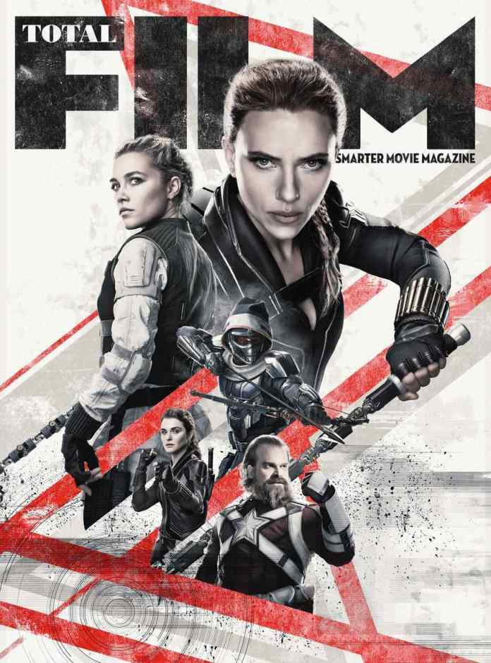 Black Widow Total Film Cover Marvel