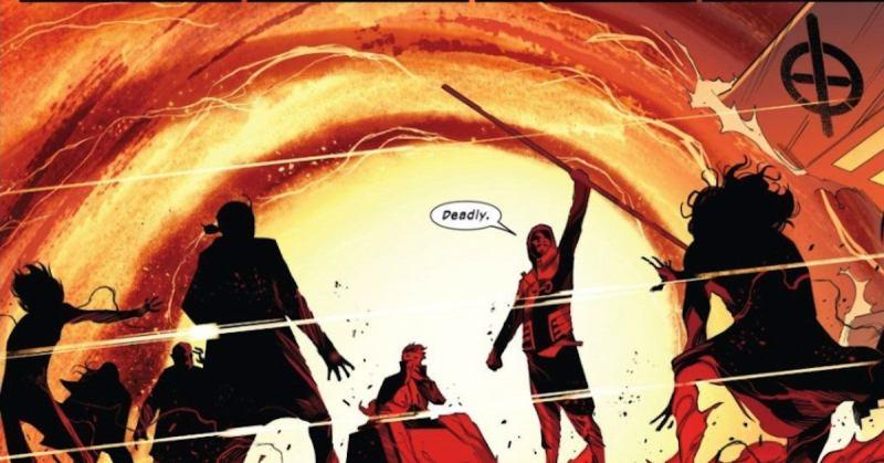 Marvel Just Made X Men Cosmic Threat Danger SWORD 1 Spoilers