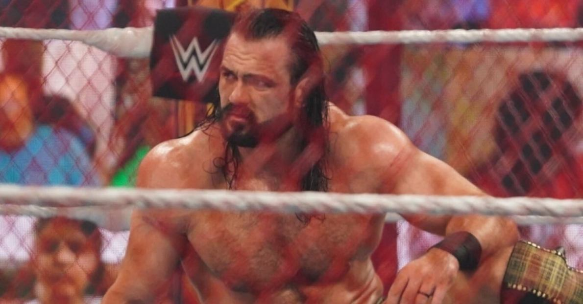 Drew McIntyre Shares Gnarly Photos After WWE Hell in a Cell Loss