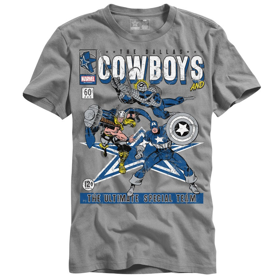 Marvel Teams Up With Dallas Cowboys For Apparel Collection