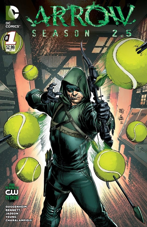 Arrow Season 2.5 #1 Variant Cover By Green Lantern and ...