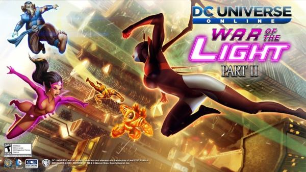 DC Universe Online: War Of The Light Part II Continues The ...