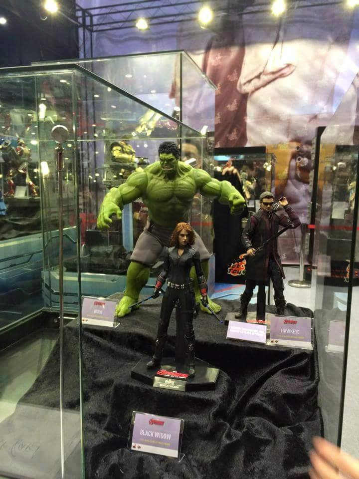 Thanos Hulkbuster Amp More Avengers Age Of Ultron Hot Toys