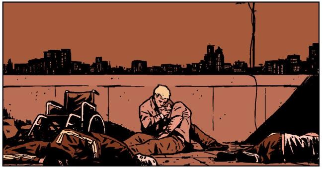 Hawkeye 21 - Barney's Death