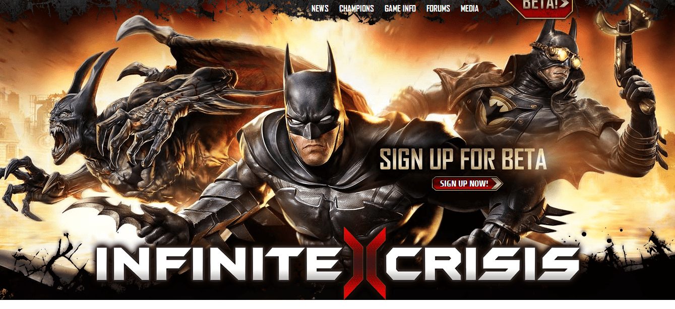 Infinite Crisis Online Video Game Announced Trailer Released