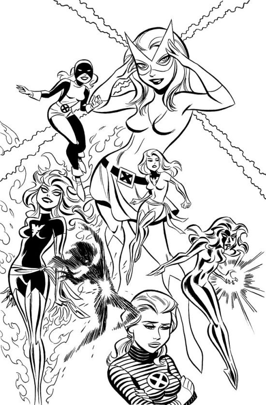 All New X Men 25 Preview All Star Lineup Of Artists