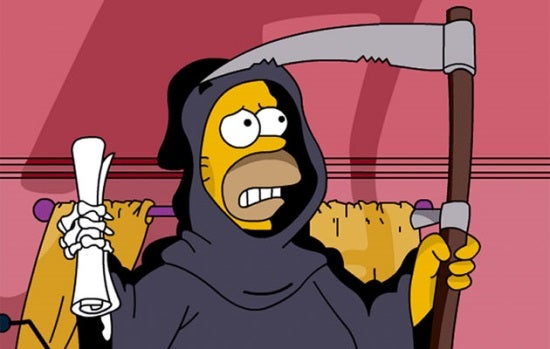 Résultat d'images pour The Death The Simpsons