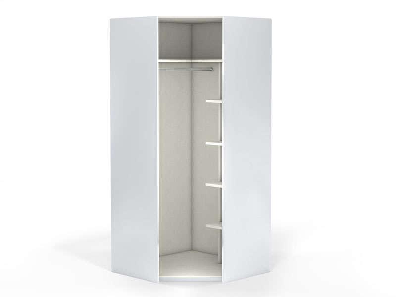 angle 1 porte 100 cm no limit coloris blanc vente de armoire conforama