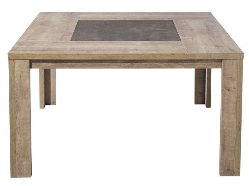 Table Carre 140 Cm BREST Coloris Chne Vente De Table