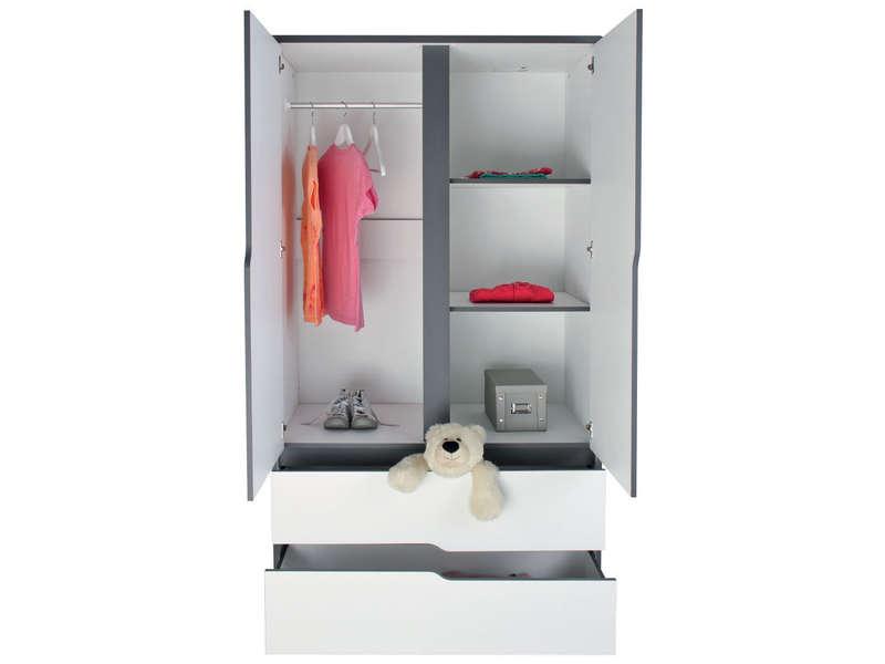 armoire de chambre 3 portes conforama