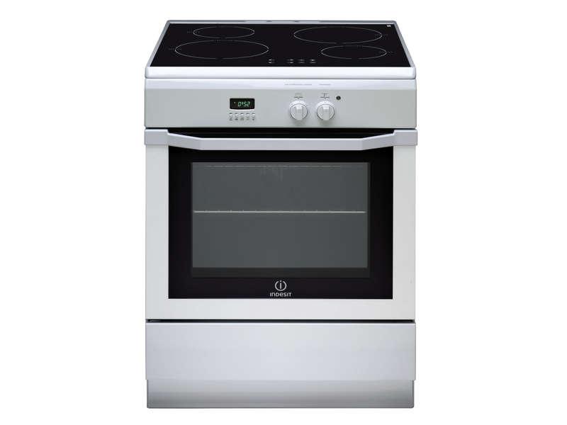 Cuisinière induction 60 cm INDESIT I64I6C6AW/FR - INDESIT - Vente ...