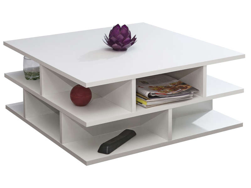 table basse carree 70 cm