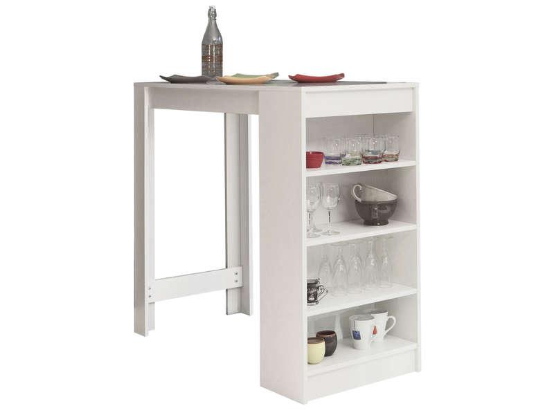 table bar 115 x 50 cm rangement