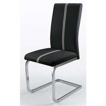 chaise enzo coloris noir vente de