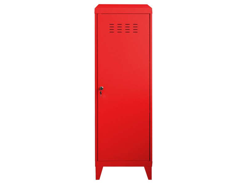 casier new line coloris rouge vente de accessoires de chambre enfant conforama