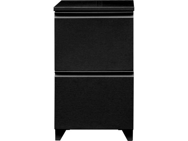 caisson 2 tiroirs primo coloris noir vente de accessoires de bureau conforama