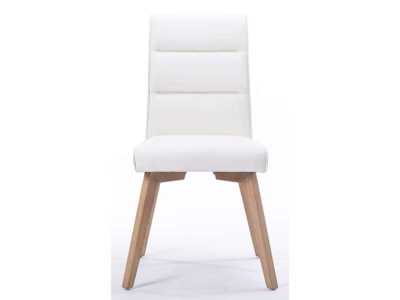 chaise blanche en bois conforama : thesecretconsul