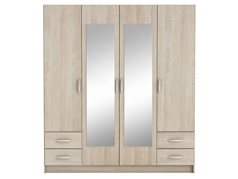 armoire chambre conforama bright