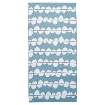 Carpette 60x115 cm NUAGE coloris bleu