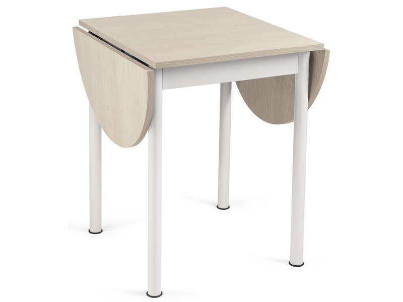 table carree avec allonge l115 cm max