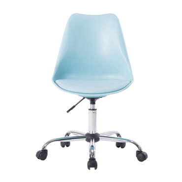 chaise dactylo alissa coloris bleu