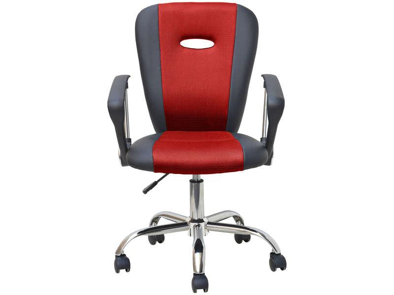 chaise dactylo moov 3 coloris noir