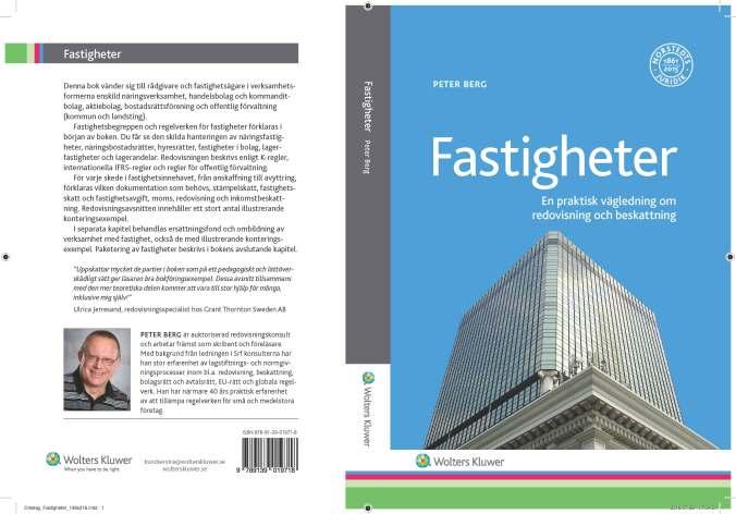 Book Cover Real Estates (SW Fastigheter - En praktisk vägledning om redovisning och beskattning)