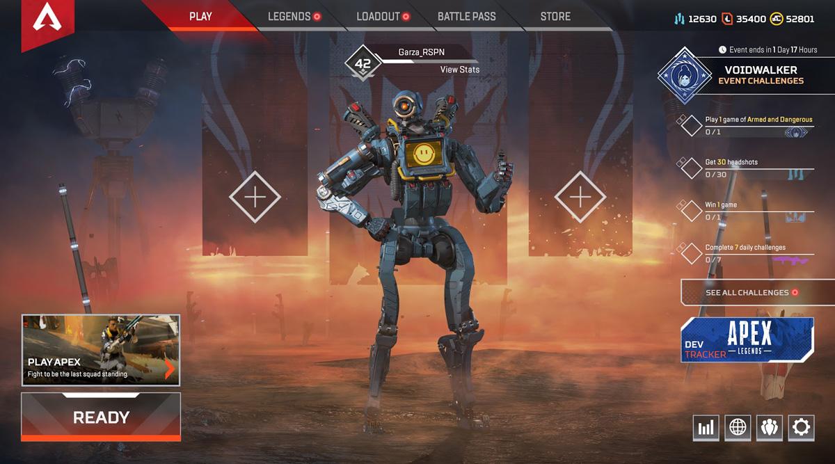 Apex Legends Update Patch Notes - Voidwalker Event 4