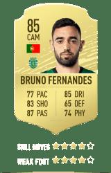 Bruno Fernandes FUT 20