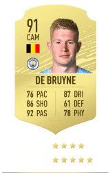 De Bruyne FUT 20