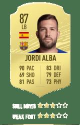 Jordi Alba FUT 20