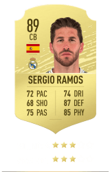 Sergio Ramos FUT 20