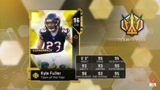 Madden Ultimate Team Team Of The Year