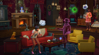 Los Sims 4 Fenómenos Paranormales Pack de Accesorios