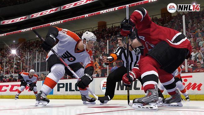 NHL 14 Stick Skills