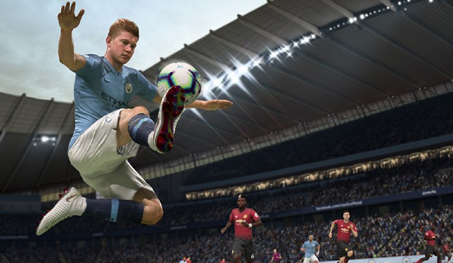 FIFA 19 New Gameplay Feature Active Touch System